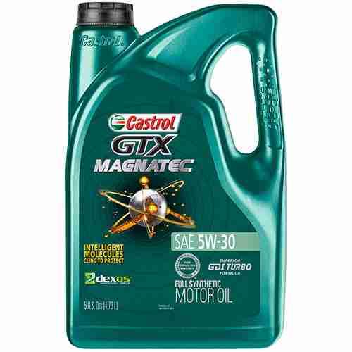 Castrol 03057 GTX MAGNATEC 5W 30 Full Synthetic Motor Oil