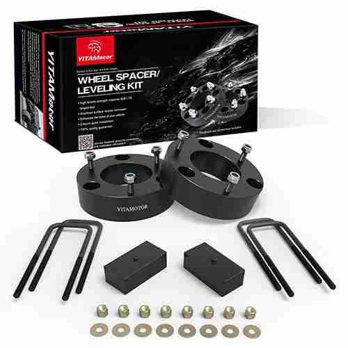 Leveling Lift Kit for Silverado Sierra 3 Front and 2 Rear Forged Strut Spacers