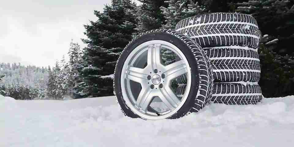 Popular luxury car tires for winter