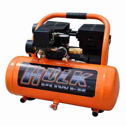 1 HP Quiet Portable Air Compressor 120 PSI 2 Gallon