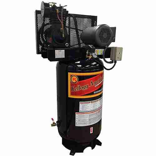 5 HP Kellogg American Vertical Air Compressor