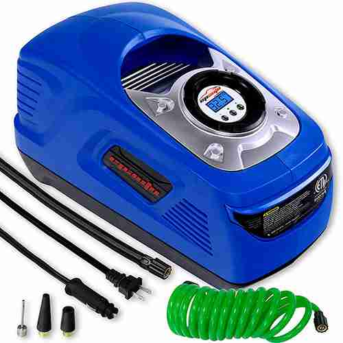 The Best Portable 110v-120v Air Compressors For Tires (Small Tire Inflator 12v)