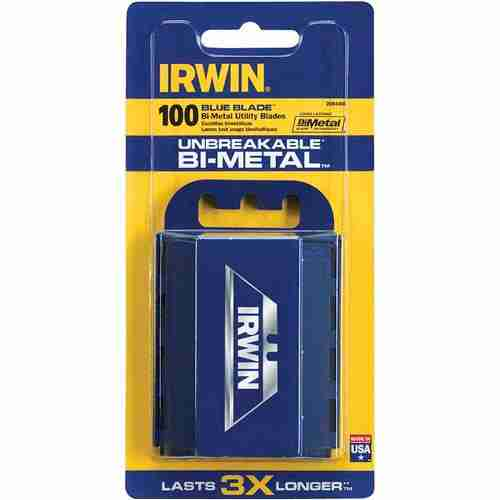 Buy IRWIN Bi-Metal Blue Utility Knife Blades