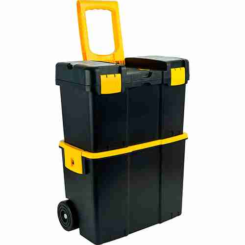 Buy Stalwart stackable mobile tool box with wheels