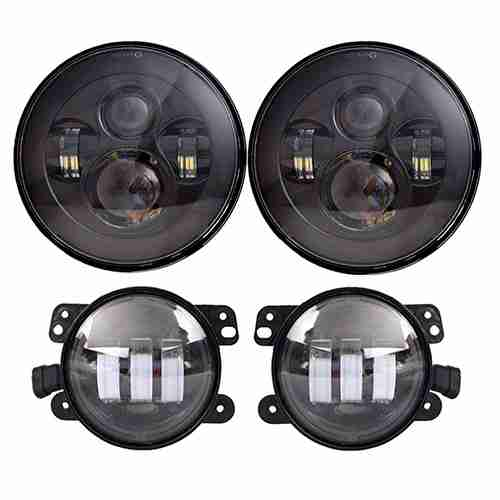 Dot Approved 7inch Jeep Daymaker LED Headlights for Jeep Wranglers