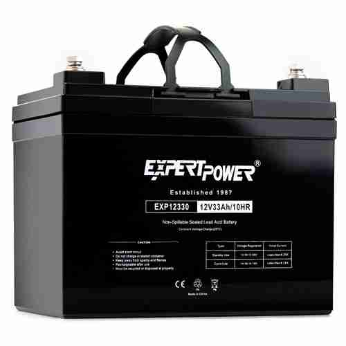ExpertPower 12v 33ah Rechargeable Deep Cycle Battery EXP12330 Replaces 34Ah 35Ah 36Ah