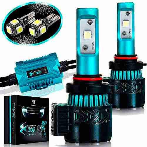 Glowteck LED Headlight Bulbs Conversion Kit