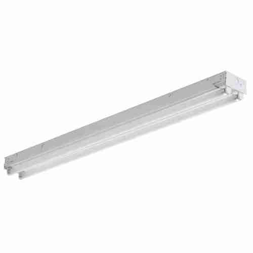 Two Light T8 Fluorescent Ceiling
