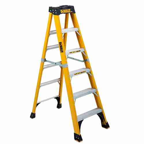 DeWalt DXL3810 06 Heavy Duty Fiberglass Ladder