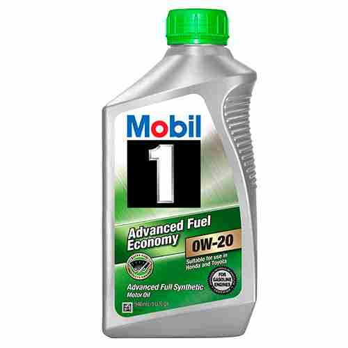 Mobil 1 Advanced Full Synthetic Motor Oil for 0W 20