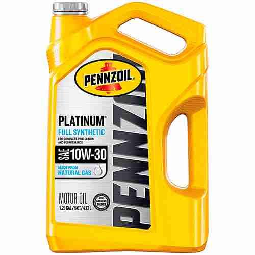 Pennzoil Platinum Full Synthetic Motor Oil 10W 30 5 Quart