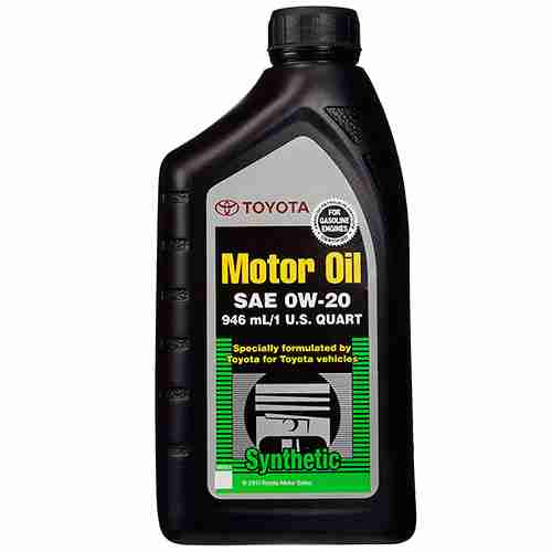 Genuine Toyota 00279 0WQTE 01 Motor Oil
