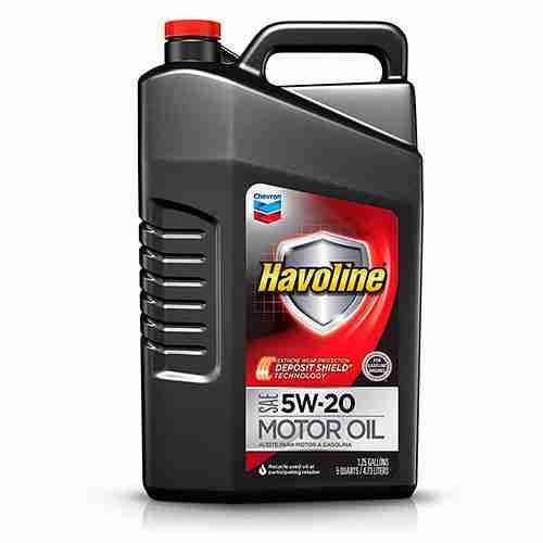 Havoline 223393474 5W 20 Motor Oil