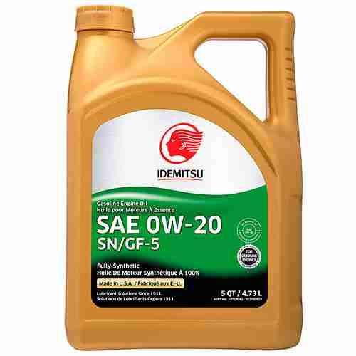 Idemitsu Full Synthetic 0W 20 Engine Oil SN GF 5