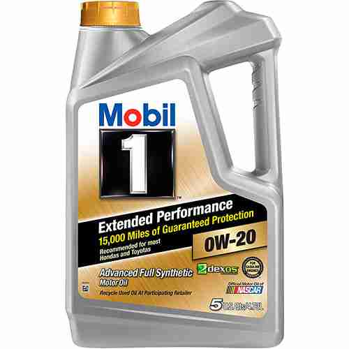 Mobil 1 Extended Performance 0W 20 Full Synthetic Motor Oil