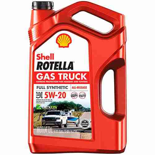 Rotella Gas Truck 5W 20 Full Synthetic Motor Oil