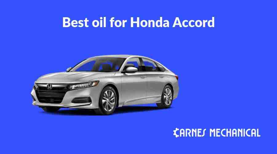 recommended engine oil for honda accord