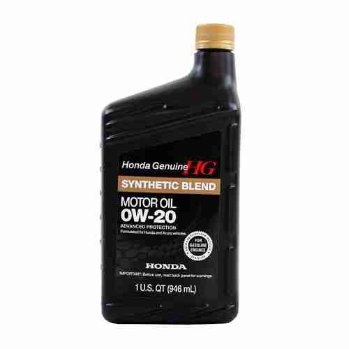 Genuine Honda Fluid 08798 9036 0W 20 Full Synthetic Blend Motor Oil 3