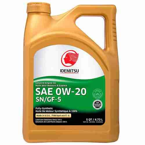 Idemitsu Full Synthetic 0W 20 Engine Oil SN GF 5 2