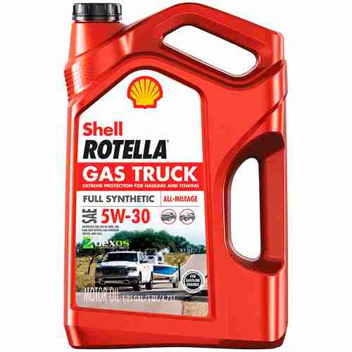 Shell Rotella Gas Truck Full Synthetic 5W 30 Motor Oil for Pickups and SUVs 1