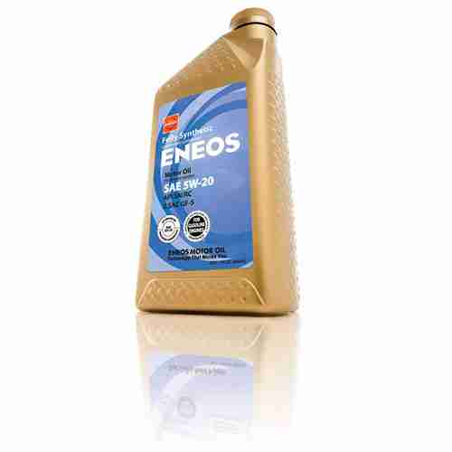 Eneos 3241301 API SN ILSAC GF 5 Certified 5W 20 Fully Synthetic Motor Oil