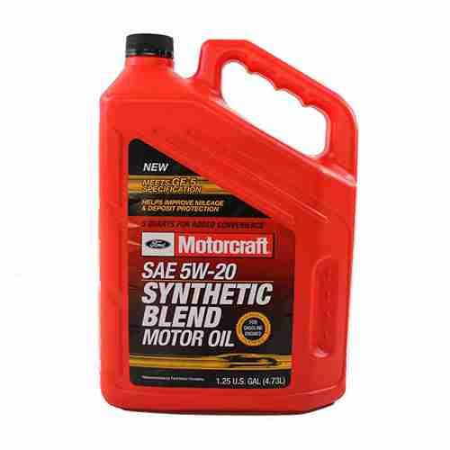 Genuine Ford Fluid XO 5W20 5Q3SP SAE 5W 20 Premium Synthetic Blend Motor Oil 1