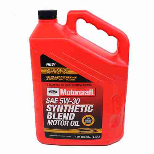 Genuine Ford Fluid XO 5W30 5QSP SAE 5W 30 Premium Synthetic Blend Motor Oil 1