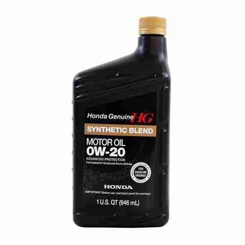 Genuine Honda Fluid 08798 9036 0W 20 Full Synthetic Blend Motor Oil