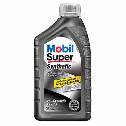 Mobil 1 Super 112911 5W 20 Synthetic Motor Oil