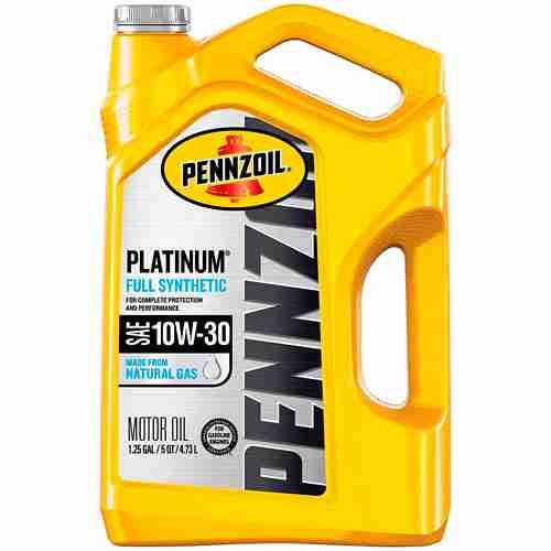 Pennzoil Platinum Full Synthetic Motor Oil 10W 30 6