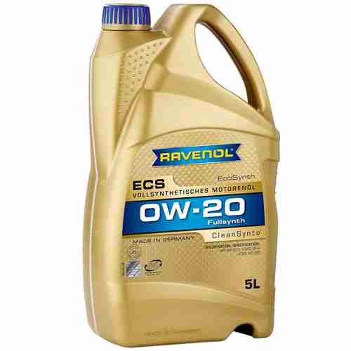 RAVENOL J1A1502 SAE 0W 20 Motor Oil ECS Full Synthetic API
