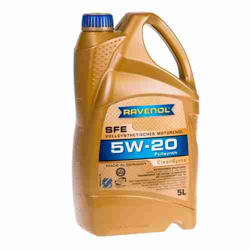 RAVENOL J1A1504 SAE 5W 20 Motor Oil SFE Super Fuel Economy Full Synthetic API SN