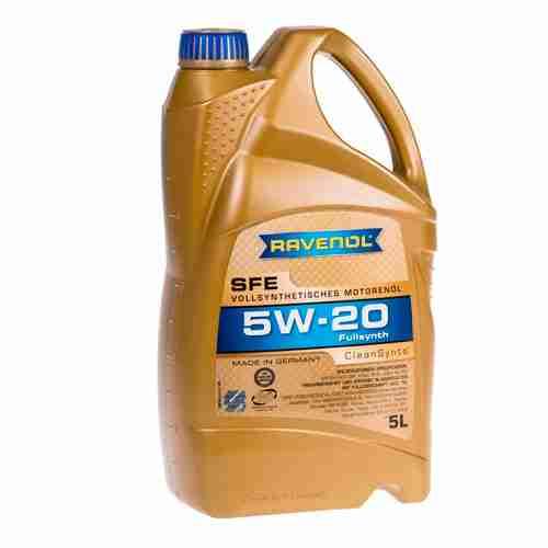 RAVENOL J1A1504 SAE 5W 20 Motor Oil SFE Super Fuel Economy Full Synthetic API