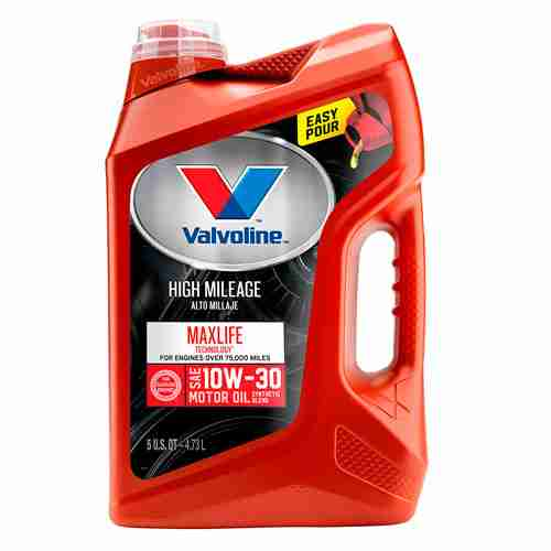 Valvoline High Mileage with MaxLife Technology SAE 10W 30 1