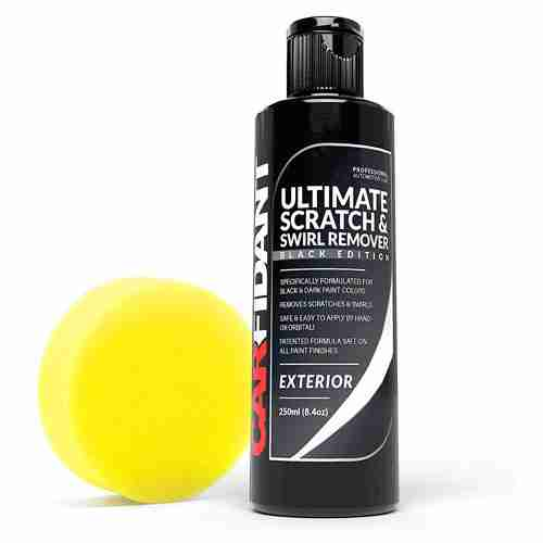 Carfidant Black Car Scratch Remover Ultimate Scratch and Swirl Remover for Black and Dark Paints Polish Paint Restorer