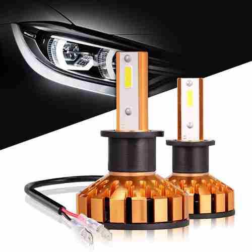 H3 LED Headlight Bulbs Anti flicker All in One Conversion Kit