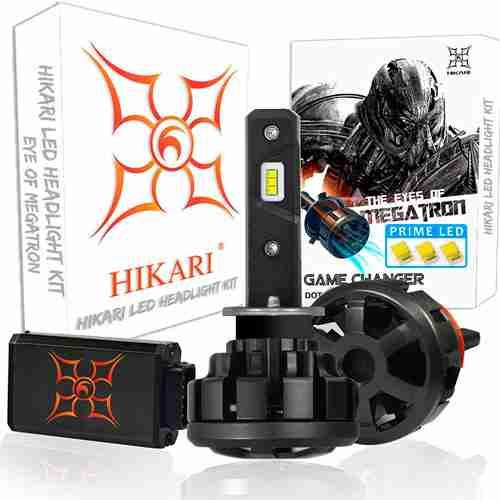 HIKARI Ultra LED Headlight Bulbs Conversion Kit H1