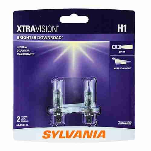 SYLVANIA--H1-XtraVision---High-Performance-Halogen-Headlight-Bulb
