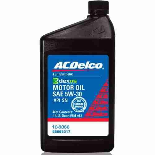 ACDelco 10 9066 Dexos1 5W 30 Motor Oil