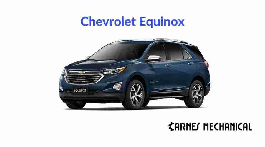 Best Oil For Chevrolet Equinox