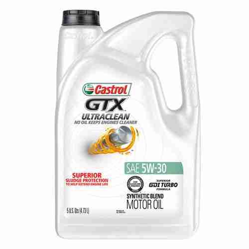 Castrol 03096 GTX ULTRACLEAN 5W 30 Motor Oil