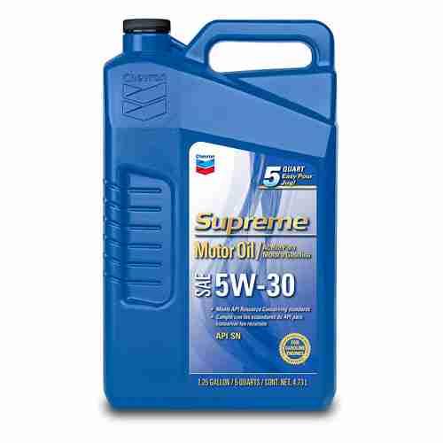 Chevron Supreme 220013474 5W 30 Motor Oil