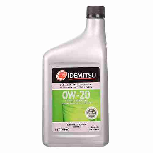 Idemitsu 20102 042B OE Fluids Grey API SN ILSAC GF 5 0W 20