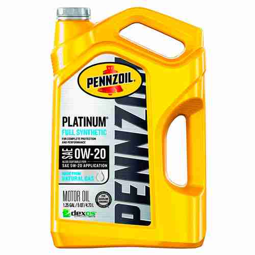 Pennzoil 550046127 3PK Platinum 5 quart 0W 20