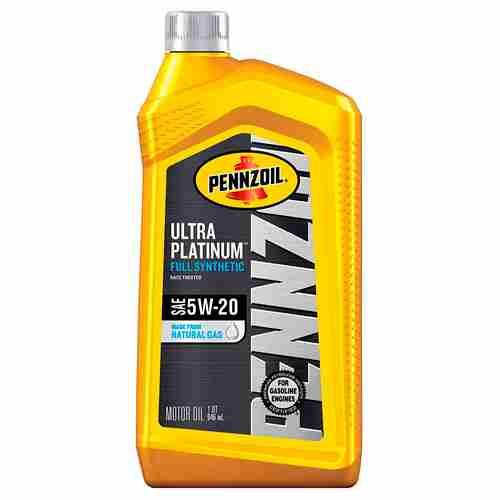 Pennzoil Ultra Platinum Full Synthetic 5W 20 Motor Oil