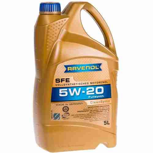 RAVENOL J1A1504 SAE 5W 20 Motor Oil 1