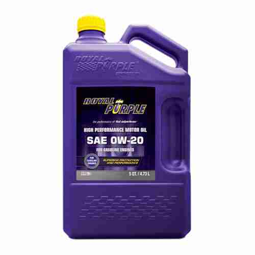 Royal Purple 51020 API Licensed SAE 0W 20