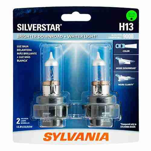 SYLVANIA H13 SilverStar High Performance Halogen