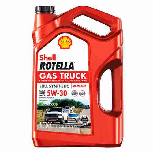 Shell Rotella Gas Truck Full Synthetic 5W 30 Motor Oil