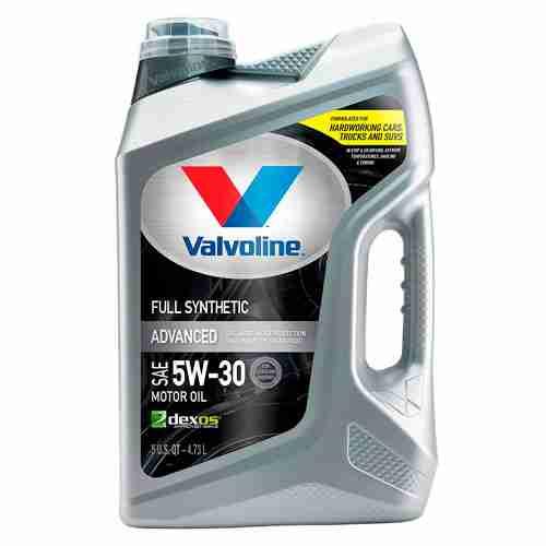 Valvoline Advanced Full Synthetic SAE 5W 30